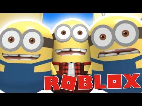 JSME MIMOŇI!:DD - Roblox Escape the Minion Obby!