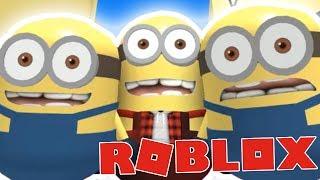 JSME MIMOŇI!:D D - Roblox Escape the Minion Obby!