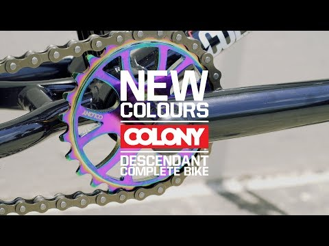 The Gloss Black / Rainbow Colony Descendant complete bike is out now and looks the goods. More info here: ...
