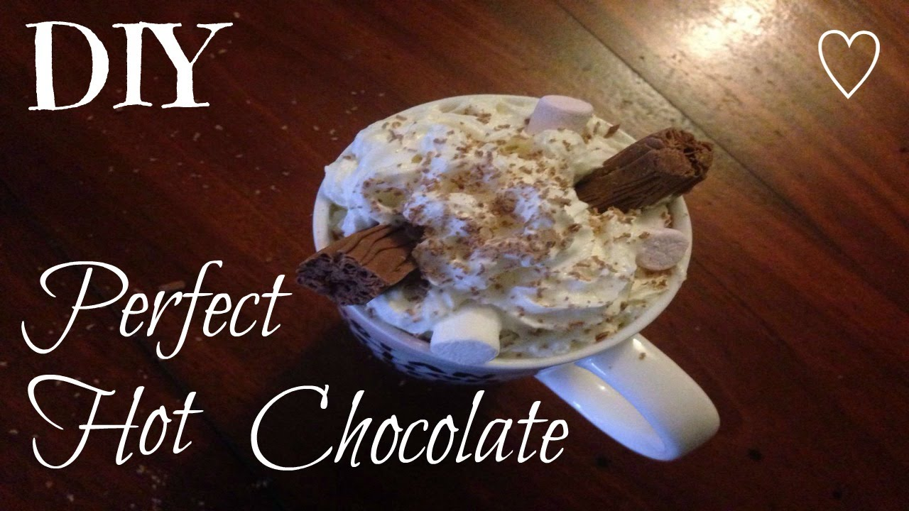 DIY: Perfect Hot Chocolate || ♡ Tamarella - YouTube