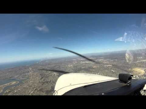 Brown to Gillespie Field (With flight over San Diego bay)