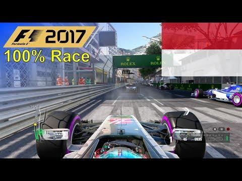 F1 2017 - 100% Race at Circuit de Monaco in Grosjean's Haas