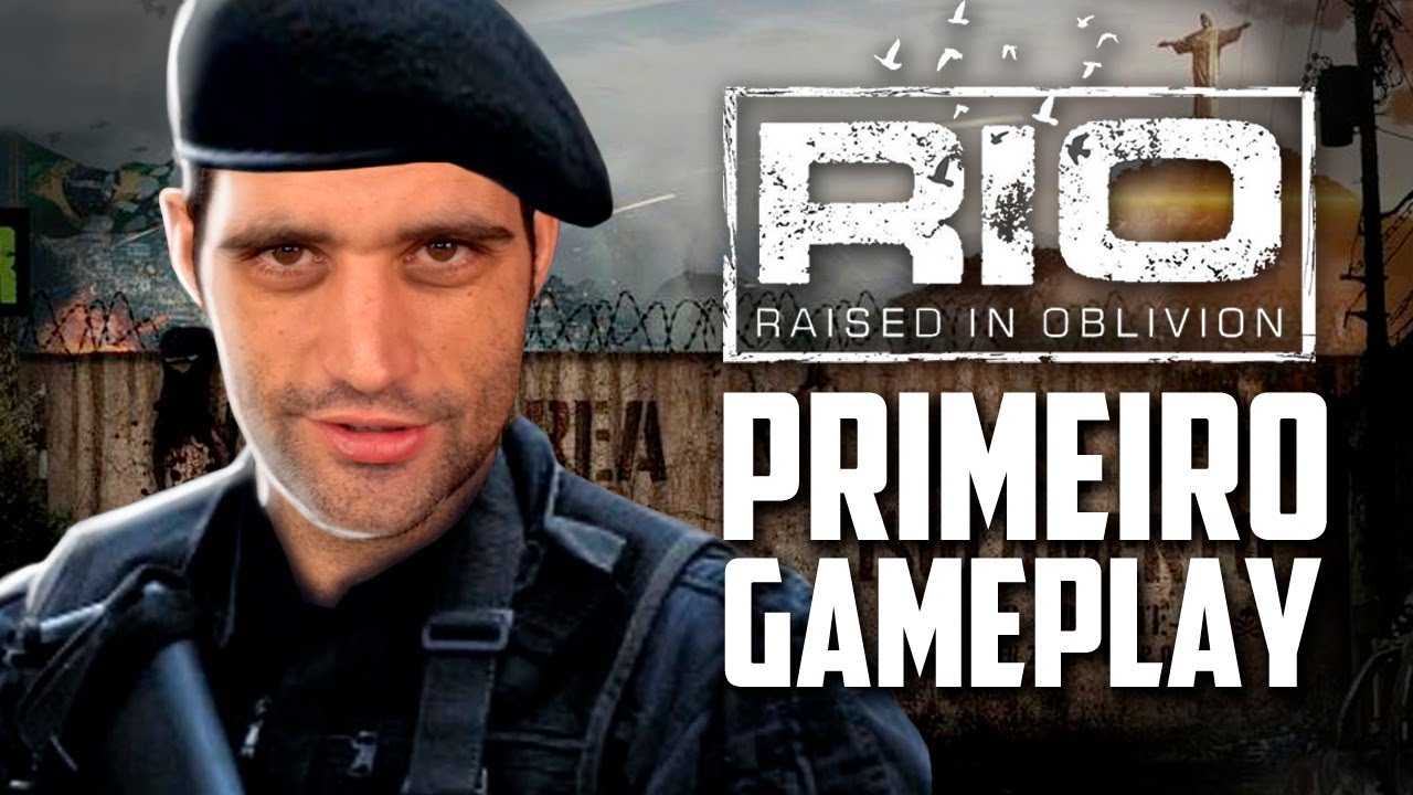 Rio Raised in Oblivion - PRIMEIRO gameplay, sobrevivência e APOCALIPSE no Rio de Janeiro