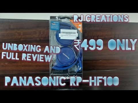 *Panasonic RP-HF100* Full review and unboxing RJ Creations