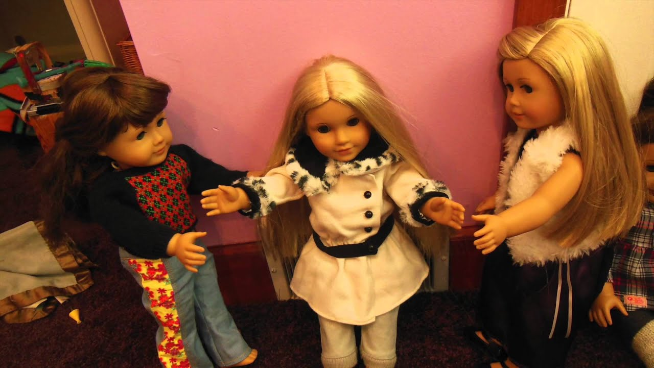 American Girl Dolls Get Married - YouTube