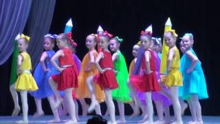 """Детский танец """"Малыши-карандаши"""""""