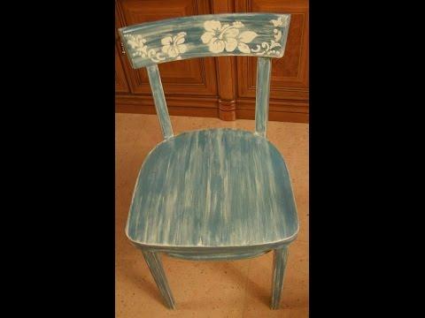 Como decapar una silla paso a paso youtube - Como hacer color gris ...
