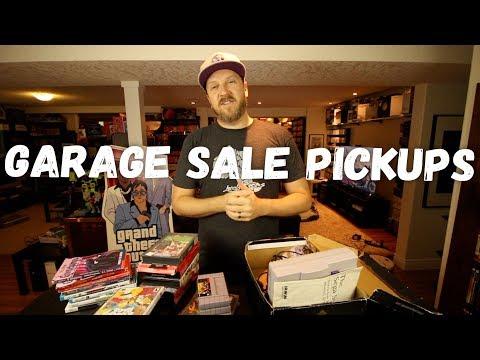 Garage Sale Pickups - Sweet Cottage Country Haul! SNES, Genesis, Xbox, WiiU