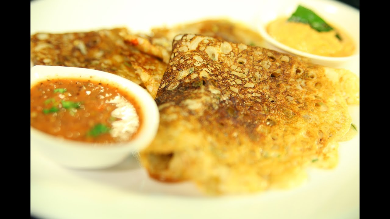 Mysore Sada Dosa Recipe | How To Cook South Indian Plain Pancake By Preetha  | Breakfast Recipe