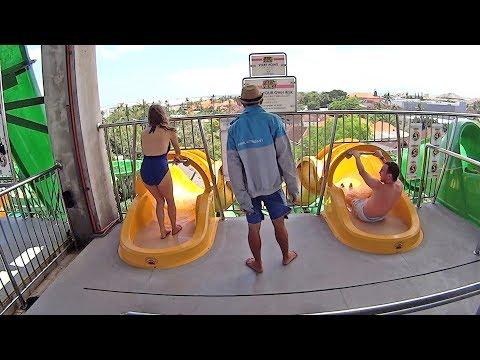 Fast n' Fierce Water Slide at Waterbom Bali