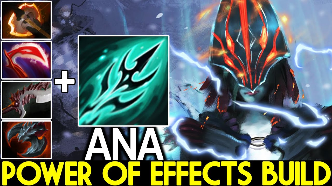 ANA [Phantom Assassin] Power of Effects Build One Dagger Kill 7.27 Dota 2