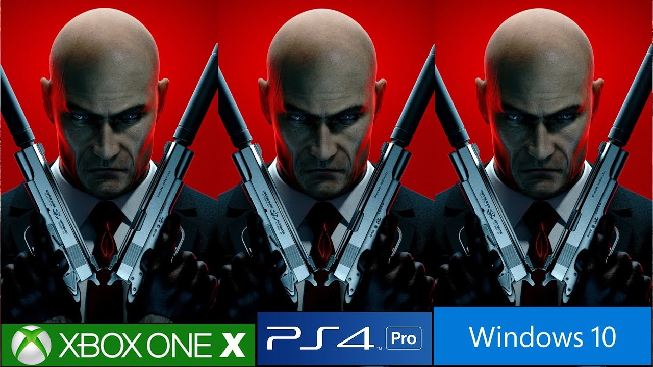 Hitman Absolution And Blood Money Ps4 Pro Vs Pc Vs Xbox One X