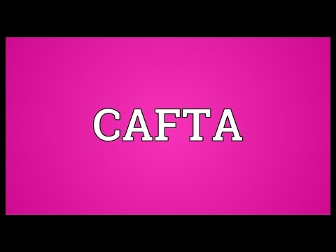 CAFTA Meaning