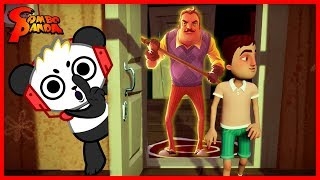 Hello Neighbor Hide N Seek THE NEIGHBOR'S SON IS GONNA GET ME Let's Play with Combo Panda