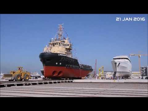 Offshore Supply Ship Making