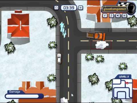 Snow Plow Parking (Парковка снегоуборочного грузовика) - прохождение игры