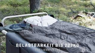 DISC-O-BED Arm-O-Bunk stapelbares stabiles Feldbett für Camping & Militär
