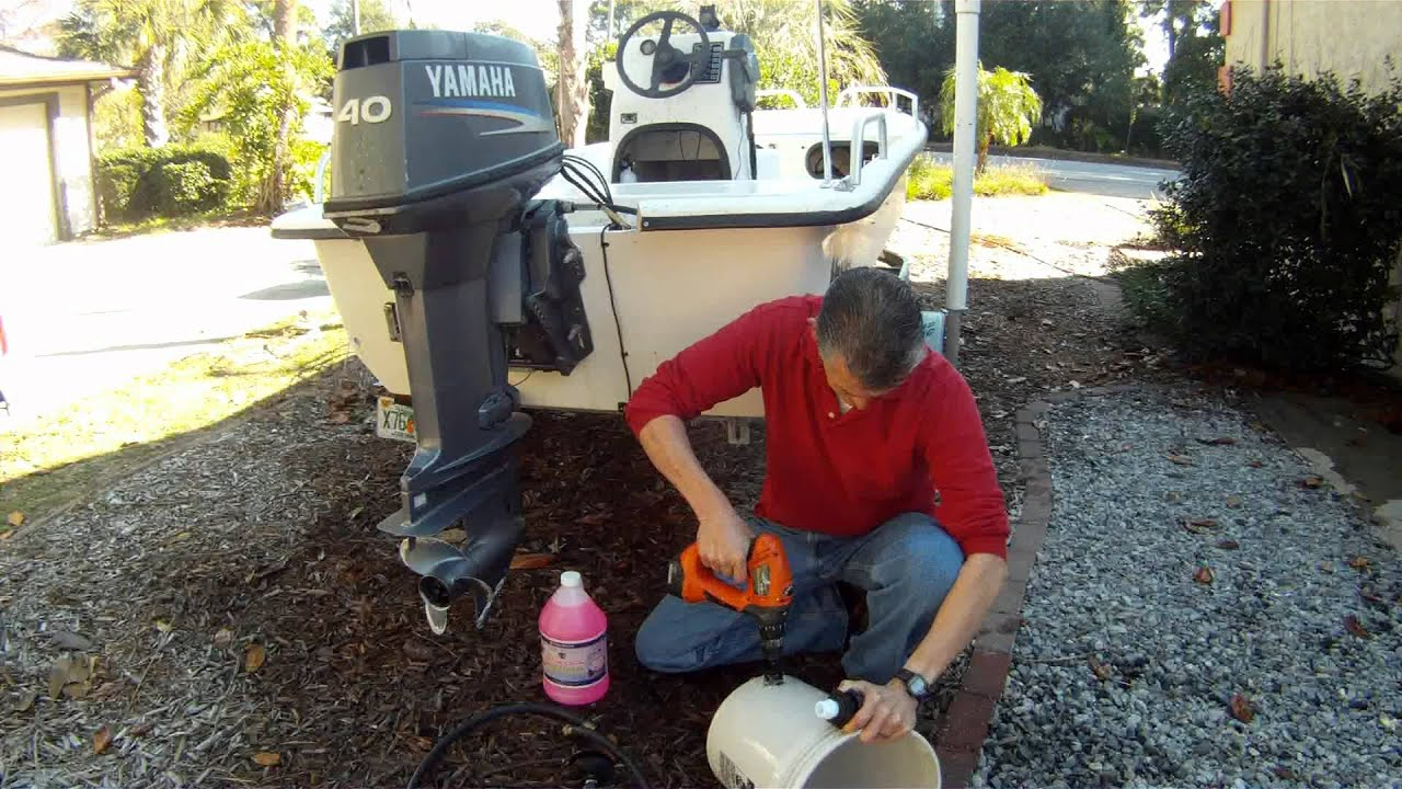 How To Winterize Your Boat Cheap And Easy With Bucket