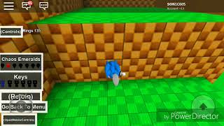 Sonic planet 4 (roblox) part 1