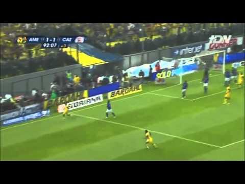 Gol de Moises Muñoz Audio W Radio América vs Cruz Azul Final Clausura 2013 Liga MX