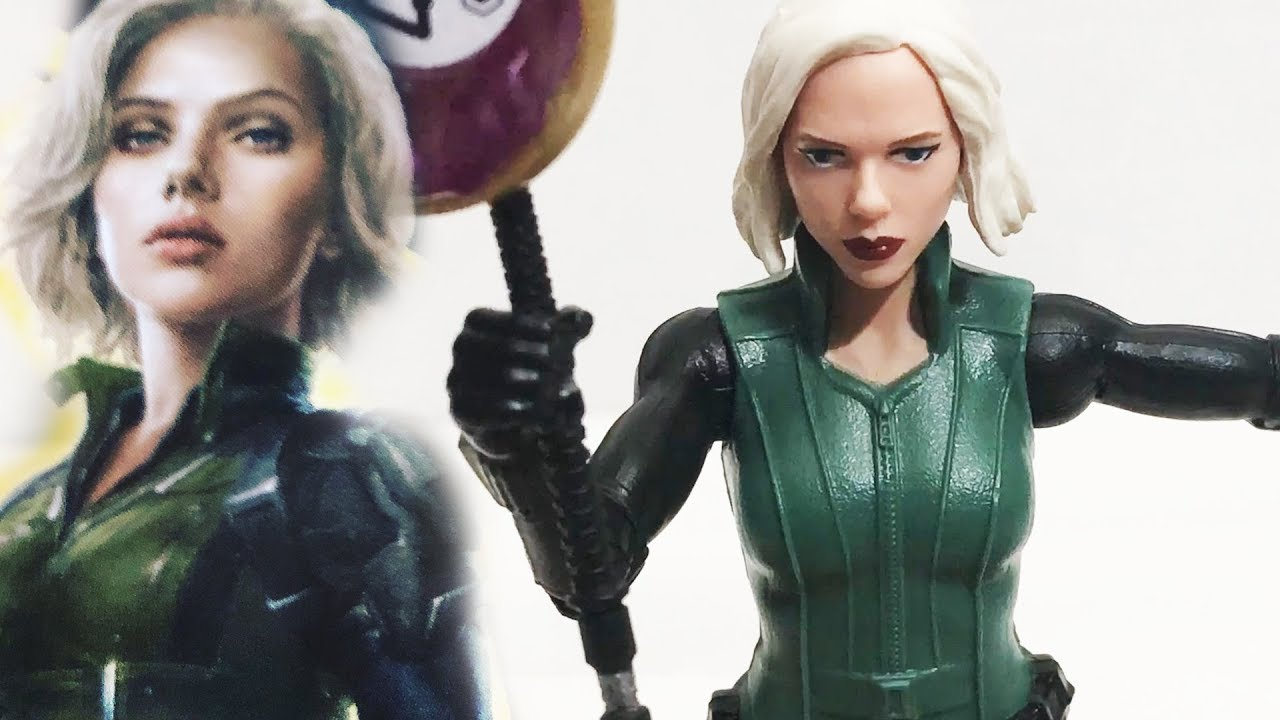 Marvel Avengers Infinity War Black Widow With Infinity Stone