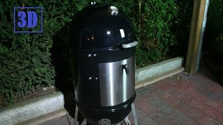 Pimp My Weber Smokey Mountain Cooker - Cajun Bandit Wsm Tuning (3d Version)
