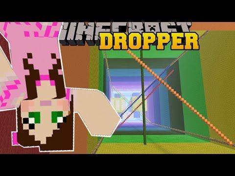 Minecraft: RAINBOW MADVENTURE! - LIBRARY DROPPER - Custom Map [4]