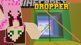 Minecraft: RAINBOW MADVENTURE! - LIBRARY DROPPER - Custom Map [4]