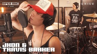 jxdn & Travis Barker So What! (Live Performance) | Open Mic