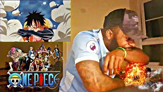 THIS N*GGA BIT HIS ARM FOR GEAR 4 WTF?!!! | LUFFY VS DOFLAMINGO PT.2 | ONE PIECE | REACTION!
