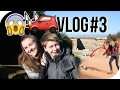 Trying to catch Pigeons?!  Visiting a castle on a hill! xp Vlog Day 4 and 5!