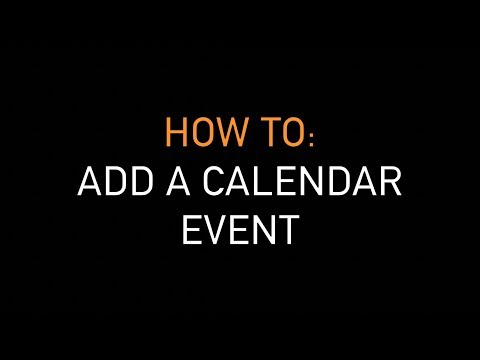 How to: Add calendar event | Deadly Gippsland website