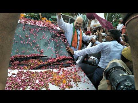 जयपुर पहुंचे अमित शाह: जगह-जगह हुआ भव्य स्वागत, कार्यकर्ताओं को देंगे जीत का मंत्र