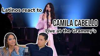Latinos react to CAMILA CABELLO GRAMMY'S 2020 FIRST MAN