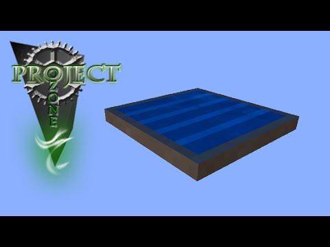 Minecraft Mods Project Ozone - SOLAR PANEL VIII [E20] (Modded HQM Sky Block)
