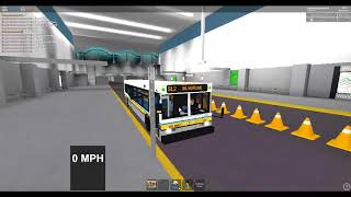 Roblox MBTA Silverline SL2 South Sta to Boston design ctr D40LF 0847
