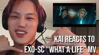 """Download [ENG SUB] EXO KAI reacts to EXO-SC """"What A Life"""" MV"""