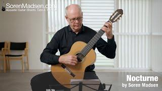 Nocturne by Soren Madsen - Danish Guitar Performance - Soren Madsen