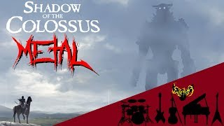 Shadow of the Colossus - The Opened Way 【Intense Symphonic Metal Cover】