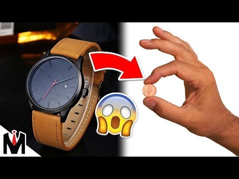 I BOUGHT A MVMT WATCH FOR £0.01...   The Cheapest Chinese MVMT Classic Minimalist Watch vs Real MVMT