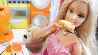 Barbie Morning Routine