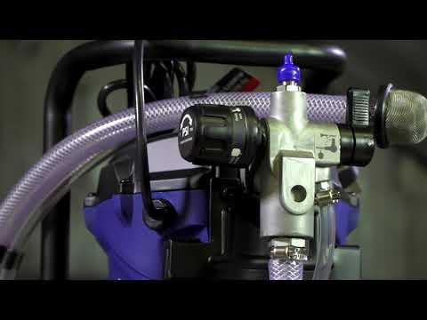 Система за пръскане на боя ACS3000, 750 W, Безвъздушна / Scheppach 5906002901 видео