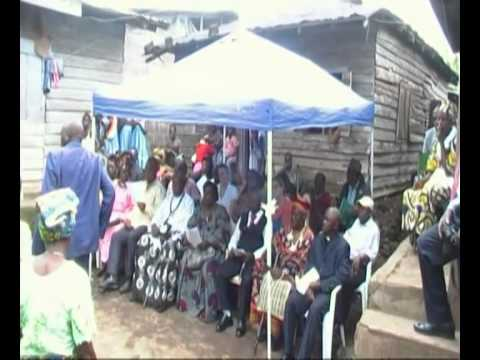 Inauguration - Good Samaritan Health Center, Ekona, Cameroon