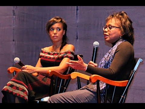 Anita Hill and Kerry Washington in Conversation at Brandeis University