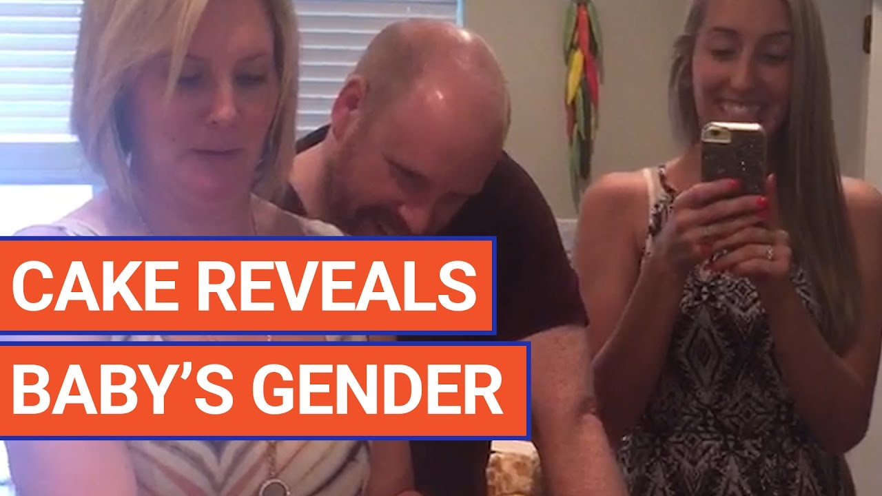 Surprise Gender Reveal With Cake Video 2016 | Daily Heart Beat