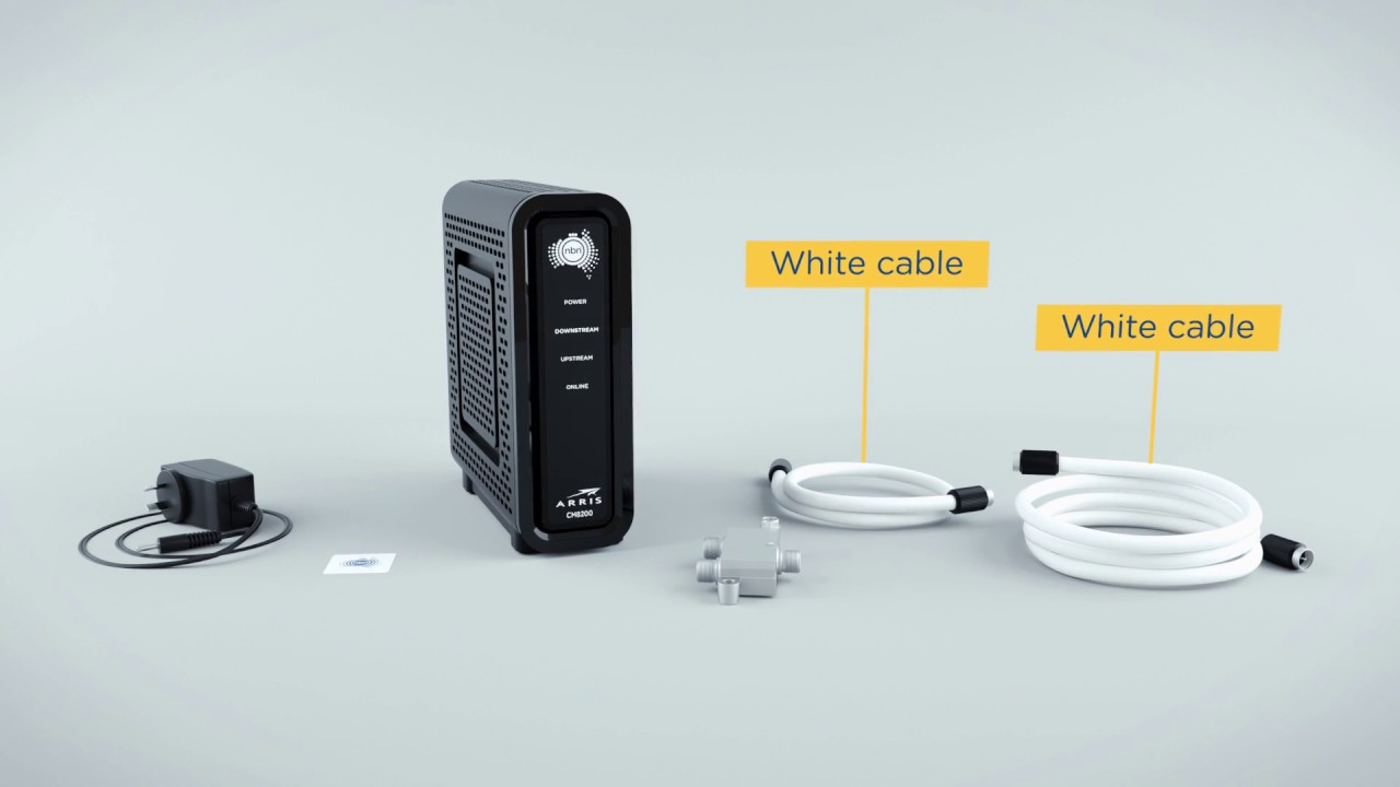 nbn HFC Installation with Pay TV  YouTube
