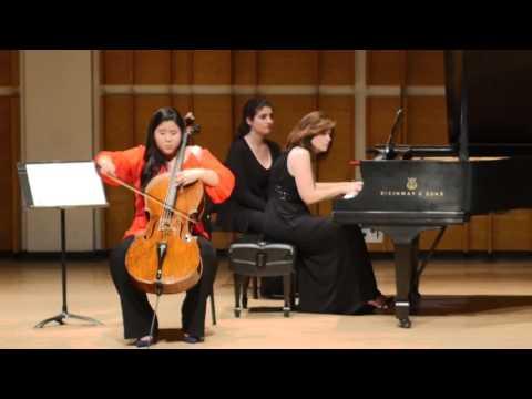 Sang-Eun Lee, cello   Fauré: Après un Rêve