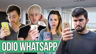 ODIO WHATSAPP!! ft. HECATOMBE! | Ceci Saia