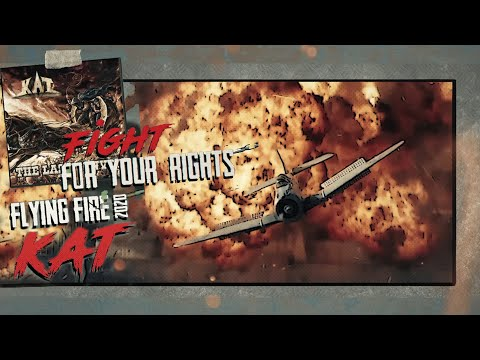 Flying Fire 2020 - feat. Tim Ripper Owens / (Lyric Video)