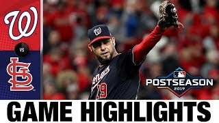 Anibal Sanchez's gem pushes Nationals to NLCS Game 1 win | Nationals-Cardinals MLB Highlights